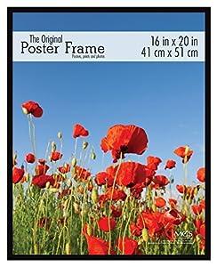 MCS 16x20 Inch Original Poster Frame, Black (65534)