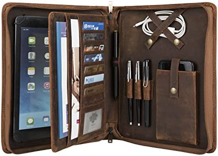 Crazy Horse Portfolio Handmade Padfolio Business product image
