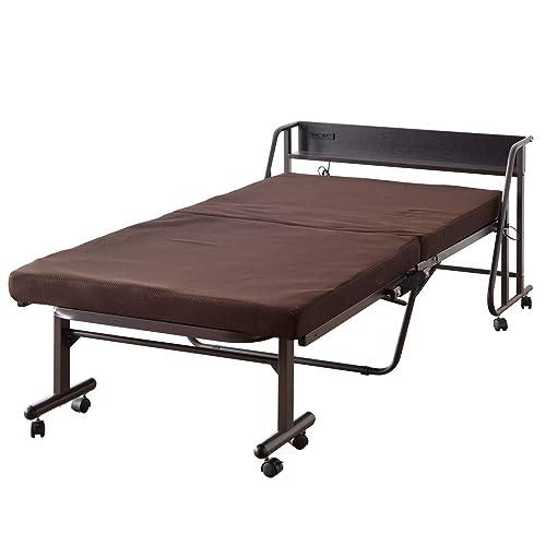 タンスのゲン 高反発 折りたたみベッド