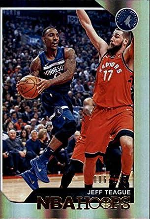 067d1fe365d 2018-19 Panini Hoops Premium Box Set Basketball  210 Jeff Teague SER199  Minnesota Timberwolves