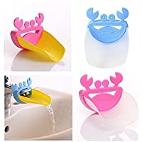 Asien 1PCS Cartoon Children's tap Sink Faucet Cover Sink Handle Extender for Baby, Animal