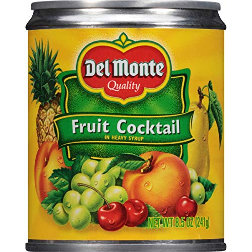 (Del Monte Canned Fruit Cocktail in Heavy Syrup, 8.5-Ounce (Pack of 12) )