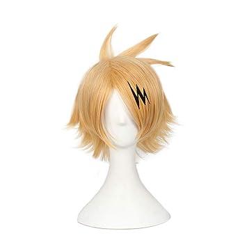 Juicykick Kaminari Denki Cosplay Wigs My Hero Academia Main Character
