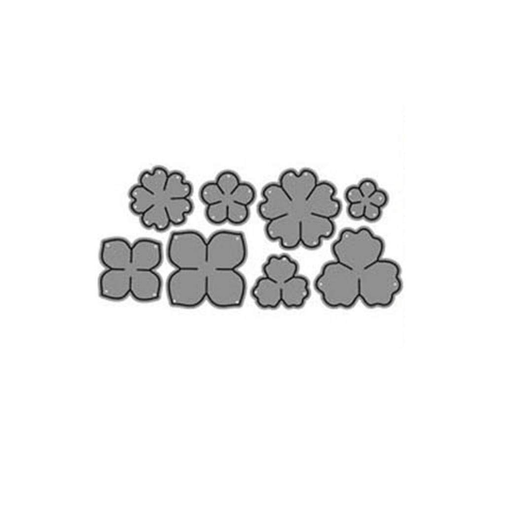 DIY Flower Metal Cutting Dies Neue Karte Herstellung Fotoalbum 1 P7U6