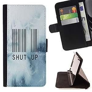 - Shup up - - Monedero PU titular de la tarjeta de cr?dito de cuero cubierta de la caja de la bolsa FOR Apple Iphone 6 Retro Candy