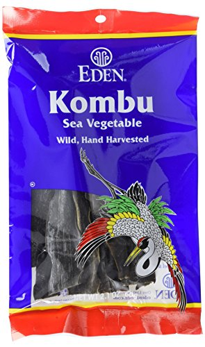 Eden Kombu, 2.1-Ounce Packages (Pack of - Jerky Strips Vegetables