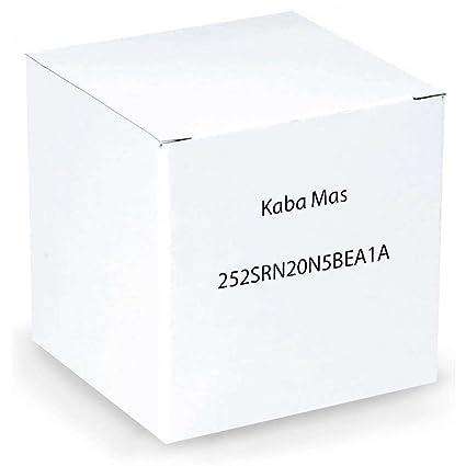 Kaba Mas 252srn20 N5bea1 a auditcon 2 modelo de la serie 252 redonda cerradura electrónica por