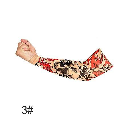 Niome - Manga de Tatuaje de Ciclismo para Hombre y Mujer, para ...