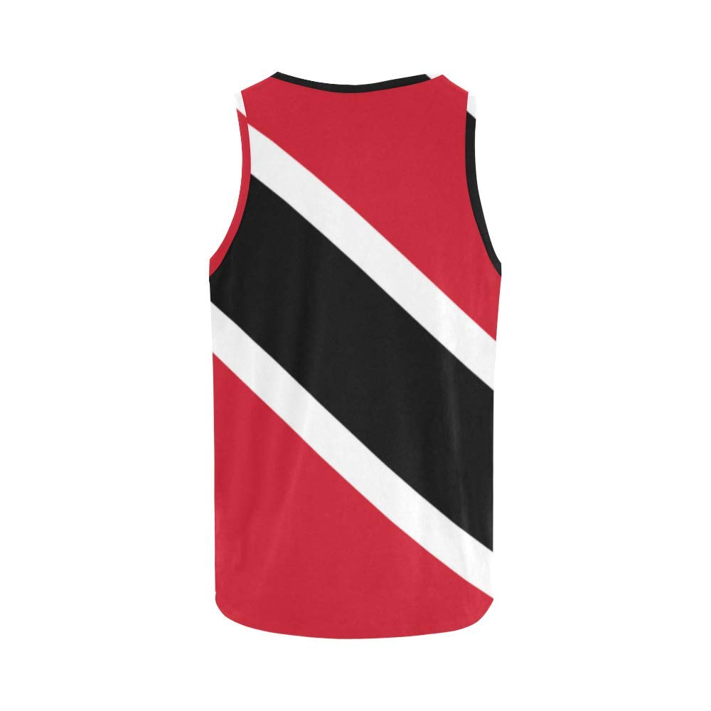 Lumos3DPrint Trinidad and Tobago Flag Mens Tank Top