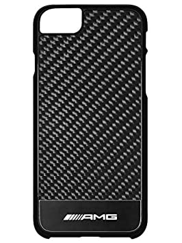 Housse rigide Original Mercedes AMG pour Iphone 7 nbsp carbone noir 9ef29292313