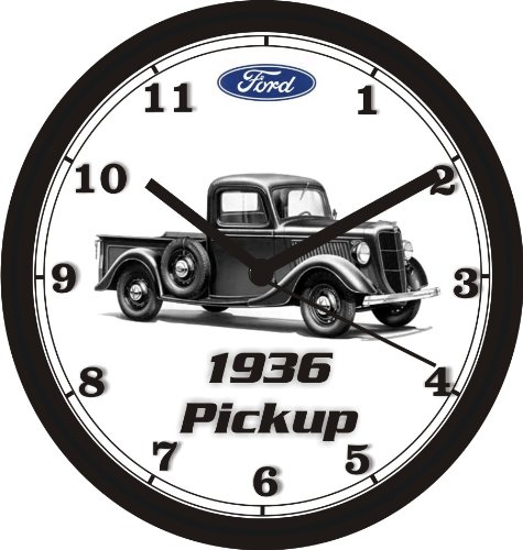 1936 FORD PICKUP TRUCK WALL CLOCK-Free USA Ship