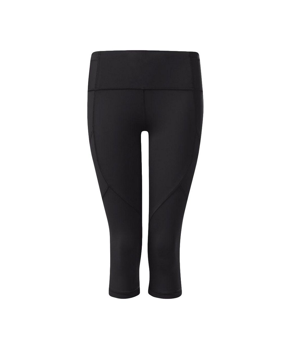 Lululemon - Outrun 17'' Crop - Black - Size 8