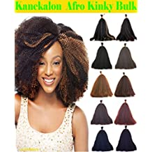 Hot Sell Kanekalon Curly Afro Kinky Bulk Extension Hair for Braiding COLOR Copper Red #30 LENGTH 12'' One Pack Deal!!!