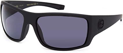 Italy NEW VonZipper PALOOKA Sunglasses Black Satin // Grey VON ZIPPER 100/% UV