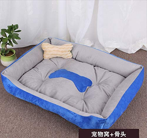 C XL(90X70X15CM) C XL(90X70X15CM) Dog House Pet Large Kennel Cat Nest golden Retriever Warm Four Seasons Pet Mat Pet Supplies