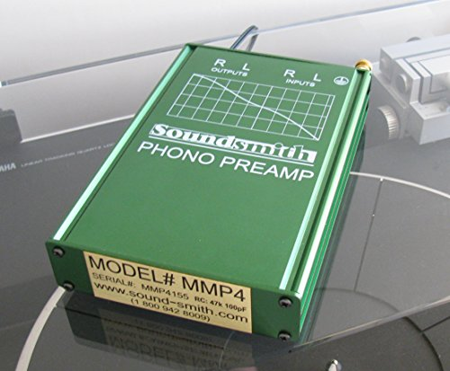 Soundsmith MMP4 MM Moving Magnet Hi-grade Phono Preamp- External Power Supply by SoundSmith