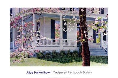 Cadences Art Print Art Poster Print by Alice Dalton Brown, 36x24 (Dalton Brown Art Alice)