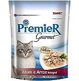 Premier Gourmet Gato Atum e Arroz Ração Úmida Premier Gourmet para Gatos Sabor Atum e Arroz Integral 70g Premier Pet…
