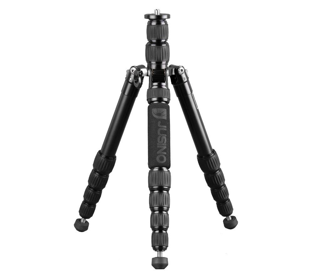 Khalia-Foto Pixel Mini Traveller Tripod Aluminium Travel Tripod with TK - 255S Monopodfunktion Jusin by Khalia-Foto