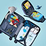 Kids Carry on Luggage Set with Wheels, Travel