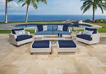 The Santorini Outdoor Garden Furniture Collection   RRP £4,895