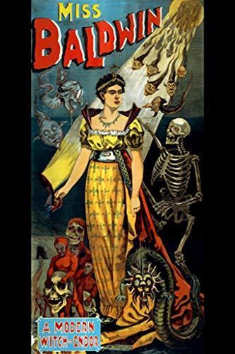 ArtParisienne Miss Baldwin A Modern Witch of Endor Calhoun Print 24x36-inch Wall -