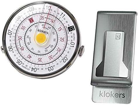 klokers(クロッカーズ) 時計KLOK01D1と専用クリップKPART-07-01のセット klok01d1-kpart-07-01[正規輸入品]