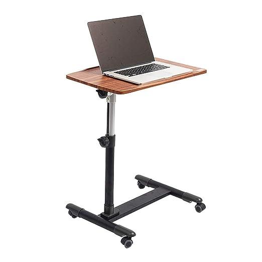 Mesa Escritorio de la computadora móvil con ruedas Mesa de uso ...
