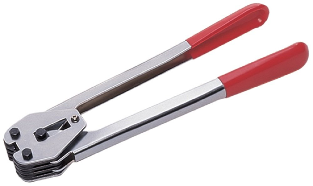 Heavy Duty Sealing Sealer Tool For 12mm Wide Hand Pallet Strapping Banding - Use With 12mm Plastic Strap + Metal Seals
