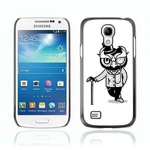 Designer Depo Hard Protection Case for Samsung Galaxy S4 Mini / Mr. Owl