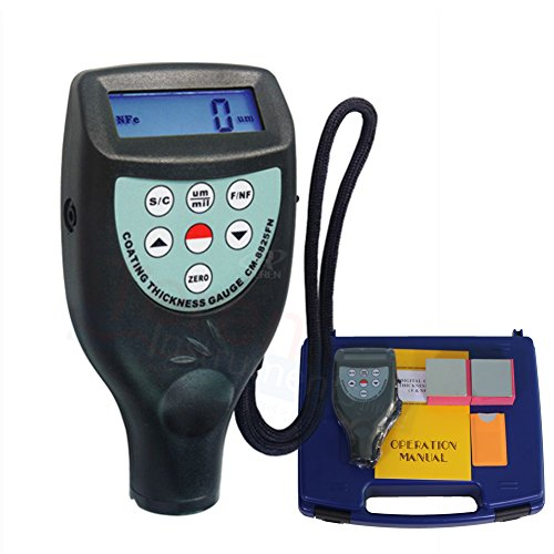 c Induction F Eddy Current NF Probe Coating Thickness Gauge Car Paint Meter 0 ~ 1250 um (Eddy Current Probe)