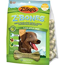 Zuke's Z-Bones Giant Clean Apple Crisp Dental Chew