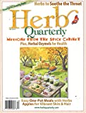 Herb Quarterly: more info