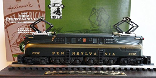 - 2332 Pennsylvania GG-1 Electric Locomotive Hallmark Great American Railways QHT7804