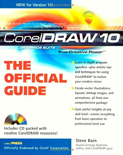 CorelDRAW(r) 10: The Official Guide