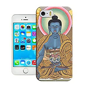 LarryToliver iphone 5/5s Design Just Do It Colorful Customizable Tibetan Book Best Rubber Cover Case