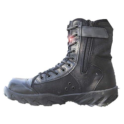 Botas Tácticas Hombres Senderismo Ligero Transpirable Botas De Verano Entrenamiento De Lona Alta Ayuda Zapatos De