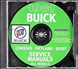 1981 Buick Repair Shop Manual CD-ROM