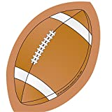 CREATIVE SHAPES ETC. LLC FOOTBALL MINI NOTEPAD (Set of 36)