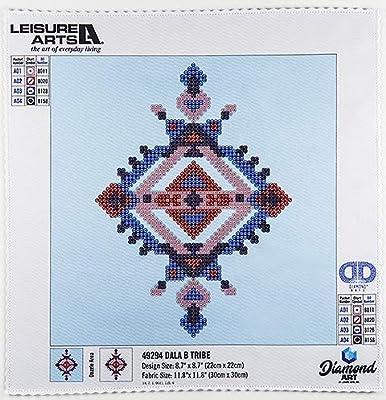 Leisure Arts 49299 DAK Diamond Art Kit 12x12 Intermediate SucculentBowl