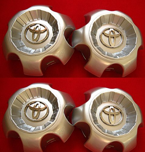Toyota 4runner Center Caps - 4 NEW REPLACEMENT 4pcs. 2003-2009 Toyota 4Runner wheel center caps hubcaps SET 69428