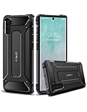 J&D Case Compatibel met Samsung Galaxy Note 10 Hoesje, Heavy Duty ArmorBox, Dubbellaagse Schokbestendige Hybride Robuuste Bumperhoes, Niet voor Note 10 Pro/10+/10+ 5G/10 Plus/10 Plus 5G, Zwart