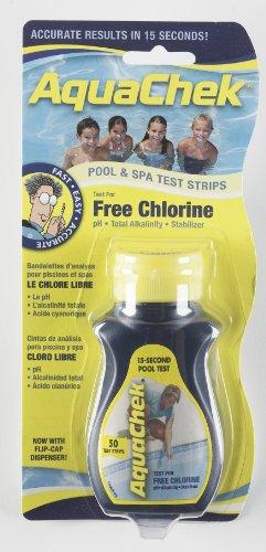 Aquachek Yellow Pool & Spa Test Strips