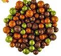 Fall Foam Glitter Balls, Orange, Green, Bronze Bowl Vase Filler Scatter Decorations