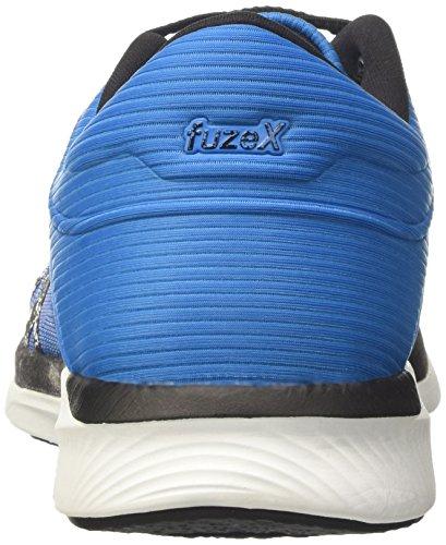 Black Chaussures Blue Bleu Diva Running Splash Rush Asics Fuzex Homme de Aqua wPzRH7R