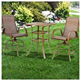 Courtyard Creations STS3X35 3 Piece Madison Collection Balcony Table Set Review