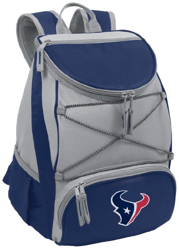 PICNIC TIME NFL Houston Texans PTX Insulated Backpack Cooler, Red by PICNIC TIME