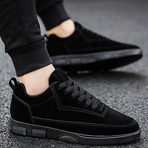 Chaussures YIXINY de Sport pour Hommes Hiver Étudiant Résistant À l'usure De Course Sports De Loisirs Sauvage Noir/Gris/Kaki Route et Chemin 3 6aFey18