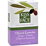 Kiss My Face Olive Oil & Lavender Bar Soap 8 oz