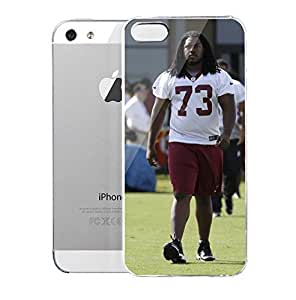 iPhone 5S Case AdomGettls AdomGettls Cut As Redskins Continue To Pare Roster Washington Times New York Giants Players Hard Plastic Cover for iPhone 5 Case